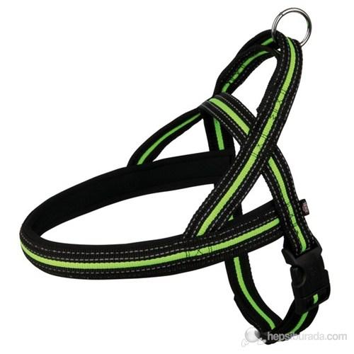 Trixie Köpek Göğüs Tasma L 60-76Cm/35Mm Siyah/Yeşil