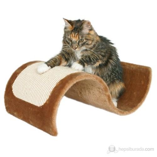 Kahverengi Kedi Tırmalama Tahtası 29x18x50 cm