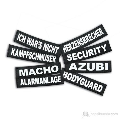 Julius-K9 Özel Tasma Etiketi XS 'Bodyguard'