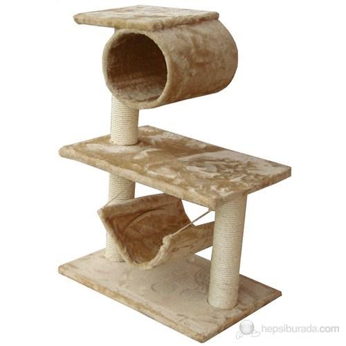 Bobo Hamaklı Kedi Tırmalama Tahtası 35x41x61