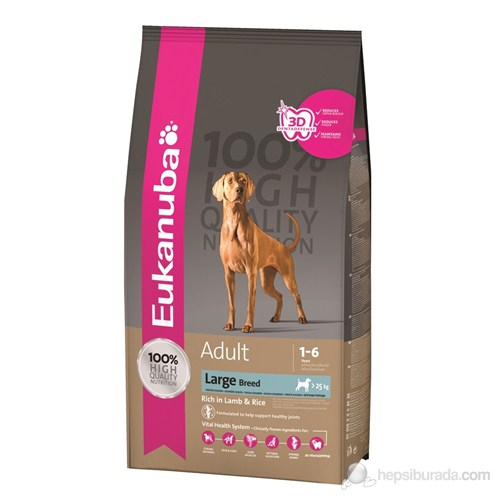 Eukanuba Adult Large Breed Lamb & Rice 12 Kg Köpek Maması