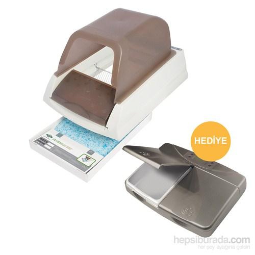 ScoopFree Ultra Otomatik Kedi Tuvaleti + Hediyeli