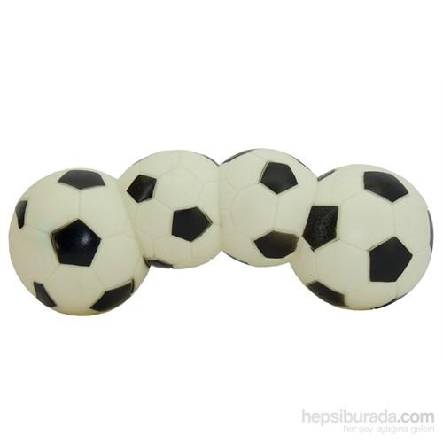 Dörtlü Futbol Topu Köpek Oyuncağı