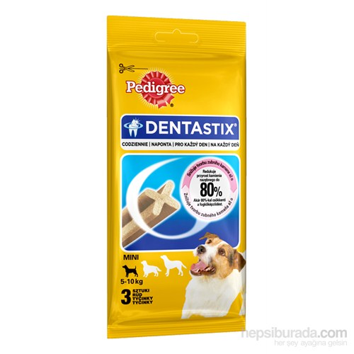 Pedigree Dentastix Small 3pcs Köpek Ödül Maması 45 gr