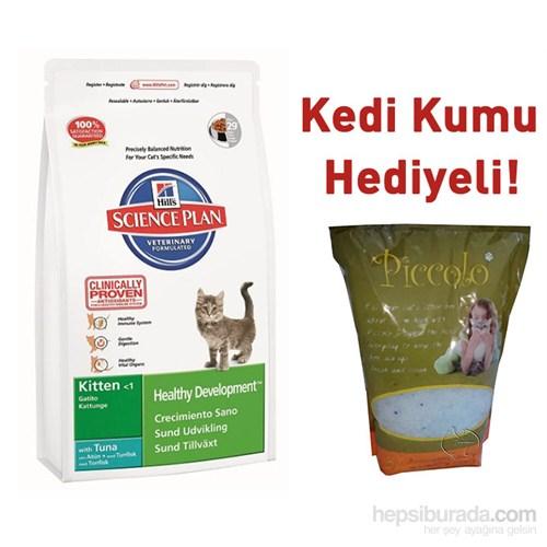 Hill´S Tuna Balıklı Yavru Kuru Kedi Maması 2Kg Piccolo Silica Kedi Kumu Hediyeli!
