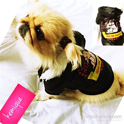Kemique Gıve Me Treats Köpek Montu - Siyah