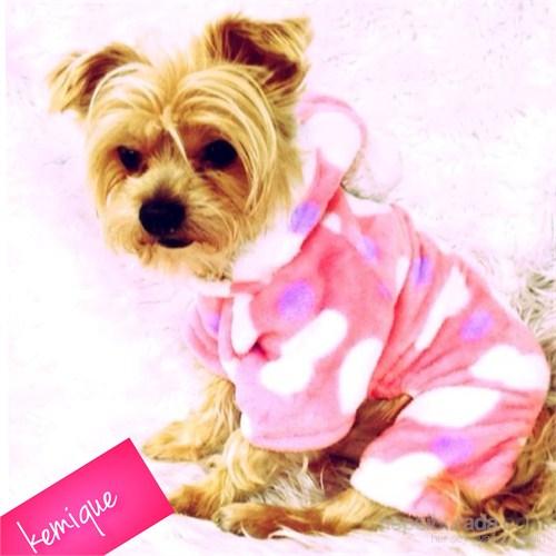Kemique Kalpli Polar Köpek Tulumu - Köpek Pijaması