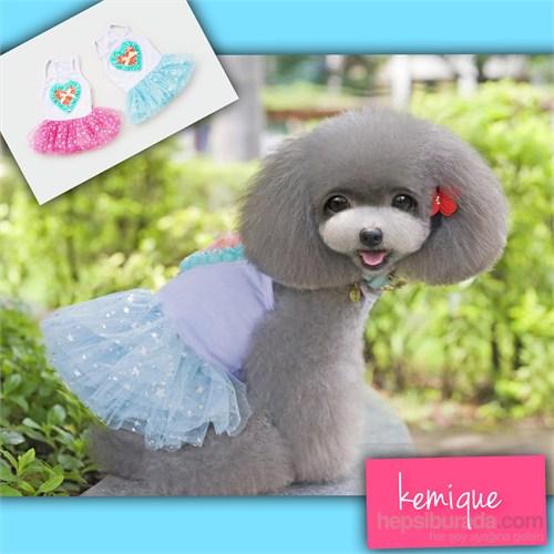 Kemique Twinkle Star Tütülü Elbise - Mavi