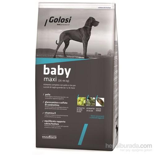 Golosi Dog Baby Maxı Tavuk Etli Ve Pirinçli Büyük Irk Yavru Köpek Maması 3 Kg