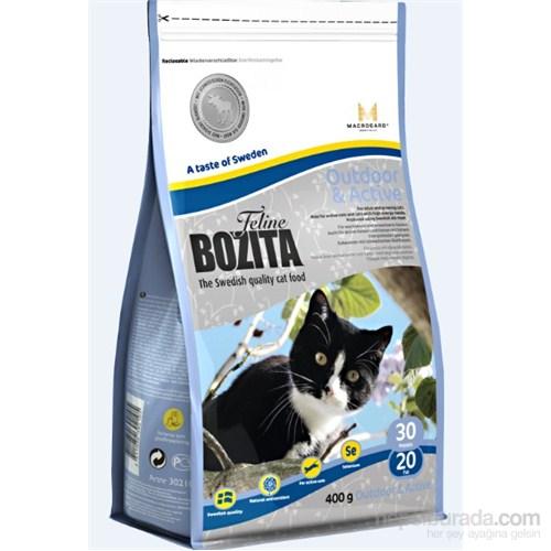Bozita Feline Outdor Aktive Tavuk ve İsveç Geyiği Etli Yetişkin Kedi Maması 400 Gr