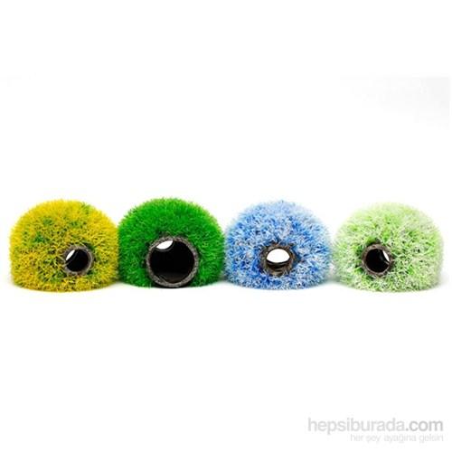 Bitki Topu 15Cm Yeşil-Beyaz
