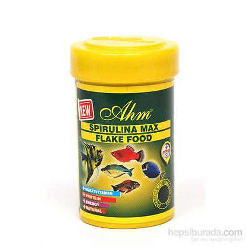Spirulina Max Flake Food 100 Ml Balık Yemi