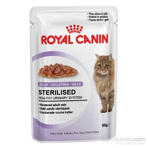 Royal Canin Jelly Sterilised Kısırlaştırılmış Yaş Kedi Maması 85 Gr - 12 Adet