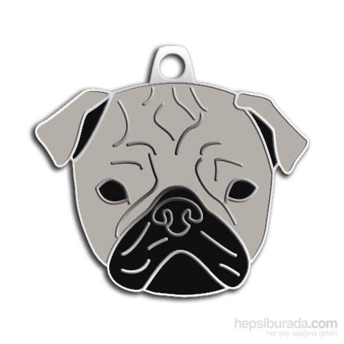 Dalis Pet Tag - Pug Köpek Künyesi (İsimlik)
