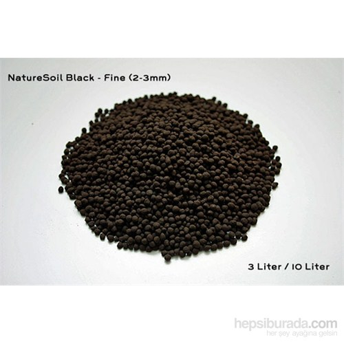 Aqua Deco Nature Soil Black Fine 3L Bitki Kumu