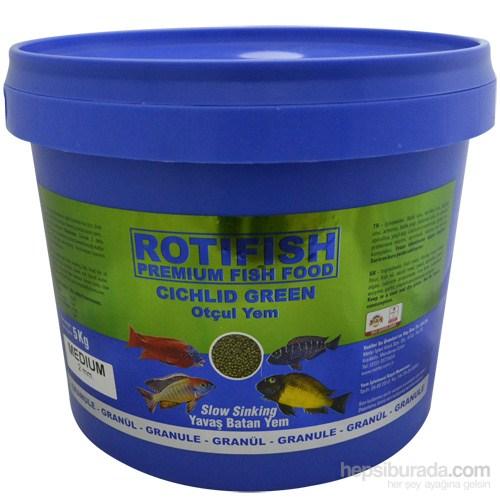 Rotifish Cichlid Green Medium (Yavaş Batan) (2 Mm) 5000Gr.