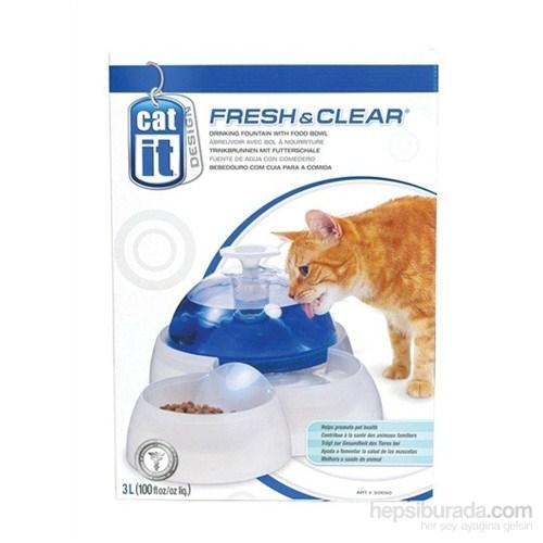 Hagen Catit Kedi Mama Ve Su Kabı 3 Lt