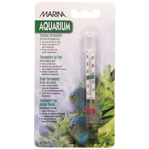 Marina Cam Akvaryum Termometre Bilyalı