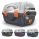 Georplast Rhino Plastik Şeffaf Kapılı Taşıma Kabı 51X34,5X33H Cm