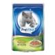 Prevital Sterile Parça Etli Ciğerli Soslu Kısırlaştırılmış Kedi Konservesi 100 Gr