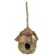 Eastland Tahta Çatılı Hasır Örgü Kuş Yuvası 14x15,5 cm