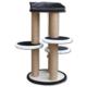 Agira Trio Çok Katlı Kedi Tırmalama Ve Oyun Standı Yükseklik 80 Cm