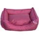 Lepus Pink Su Geçirmez Köpek Yatağı Medium 50x65x20 cm