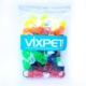 Vixpet Güvercin Ayak Klipsi Renkli 100'lü Paket