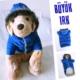 Kemique Büyük Irk - Mavi- Poof By Kemique - Köpek MontuKöpek Paltosu - Köpek Kıyafeti