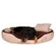 Trixie köpek yatağı 60x50cm Kahverengi-Siyah