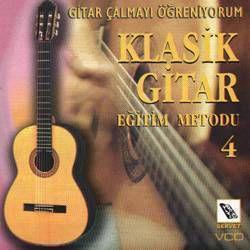 Klasik Gitar Öğreniyorum VCD-4
