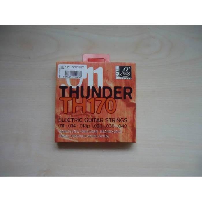 IMC Galli TH170 Thunder 011 Elektro Gitar Teli