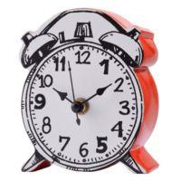 Evlina Home Kırmızı Yüzeyli Karikatürize Saat
