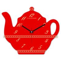 Clockmaker 30x25 MDF Demlik Duvar Saati CMM206