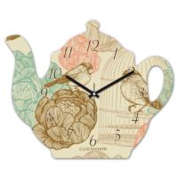 Clockmaker 30x25 MDF Demlik Duvar Saati CMM212