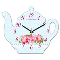 Clockmaker 30x25 MDF Demlik Duvar Saati CMM214