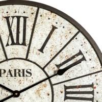 Altıncı Cadde Paris Duvar Saati Beyaz Renk 60 Cm