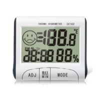 Oem Dc102 İç Mekan Termometre Nem Ölçer Saat