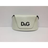 Dolce & Gabbana Beyaz Mıknatıslı Güneş Gözlüğü Kabı Kılıfı