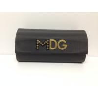 Dolce & Gabbana Madonna Siyah Çok Bombeli Güneş Gözlüğü Kabı Kılıfı