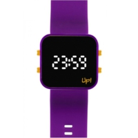 Upwatch Led Gold/Mor Unisex Kol Saati
