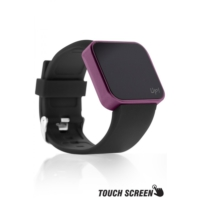 Upwatch Touch Smooth/Mor-Siyah Unisex Kol Saati