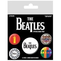 Pyramid International Rozet Seti - The Beatles Black