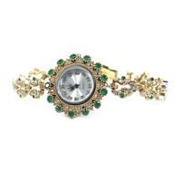 Dhamany Yeşil Yıldız Bayan Gümüş Saat