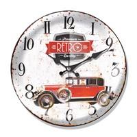 Clocktime By Cadran Dekoratif Bombeli Cam Duvar Saati Ct47