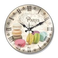 Clocktime By Cadran Dekoratif Bombeli Cam Duvar Saati Ct60