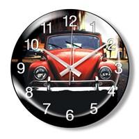 Clocktime By Cadran Dekoratif Bombeli Cam Duvar Saati Ct82