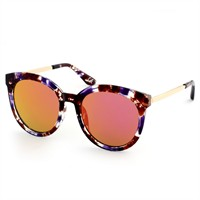Almera Yeni Sezon Trend Moda Siyah Şeffaf Çerçeve Güneş Gözlüğü 37001