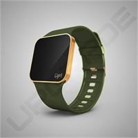 Upgrade Matte Gold & Green Kol Saati