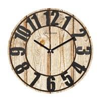 Clockmaker By Cadran Retro Vintage 30X30 Mdf Duvar Saati Cmm146